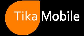 tikamobile logo white