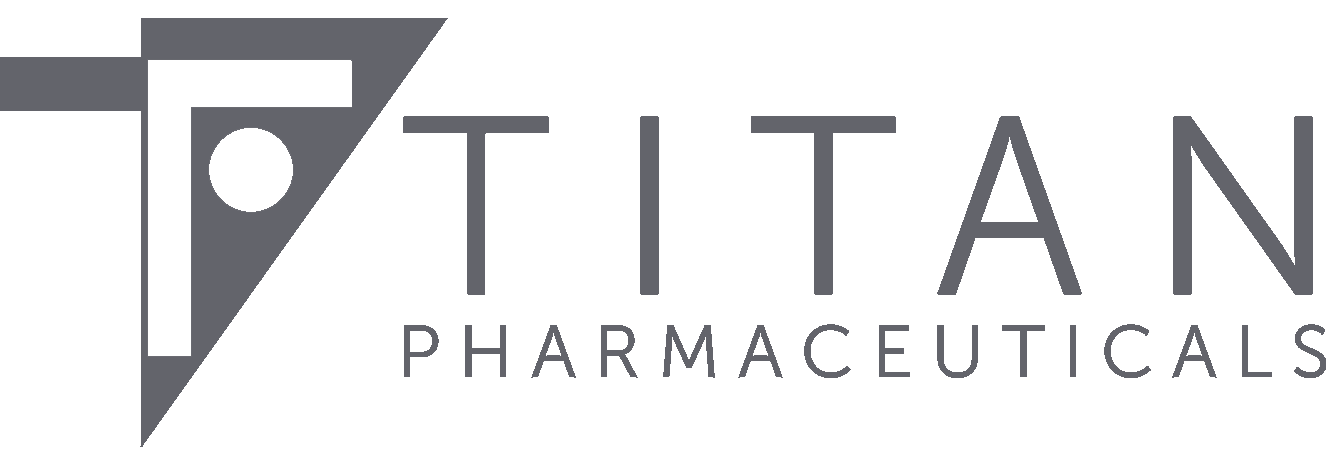 Titan Pharmaceuticals Logo 1326w mid grey